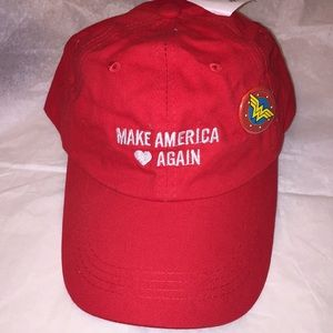 Make America Love Again Hat With Wonder Woman Pin